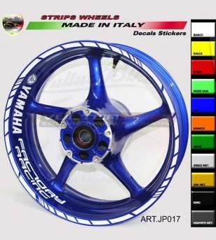 Pegatinas Factory Racing para ruedas de motocicleta de 17 pulgadas - Yamaha