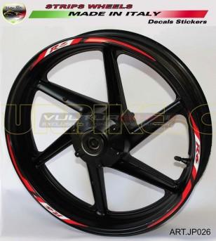Pegatinas de la rueda de la motocicleta - Yamaha R6