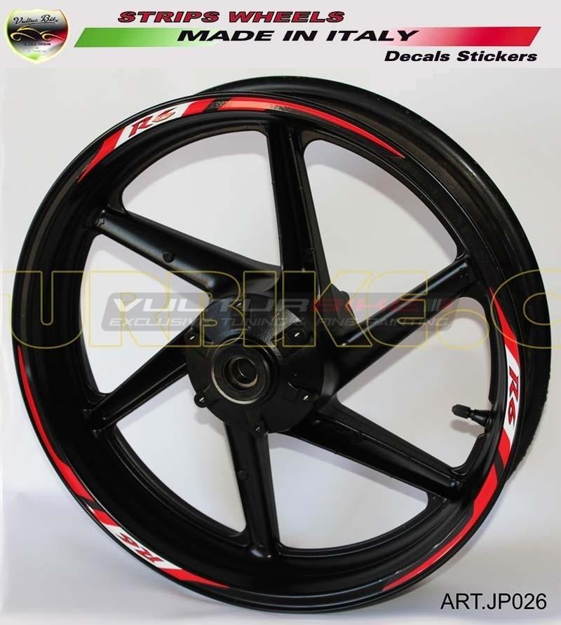 Stickers for bike's wheels - Yamaha R6