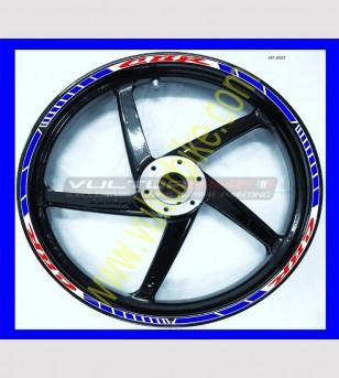 Adesivi bicolore per ruote moto - Honda CBR