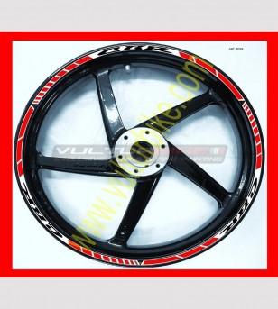 Pegatinas bicolores para ruedas de motocicleta - Honda CBR