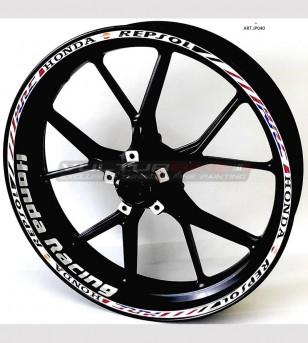 Adesivi per ruote - Honda Racing CBR Repsol hrc