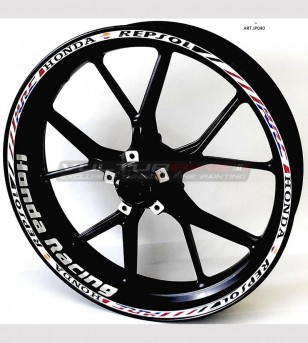 Stickers for wheels - Honda...