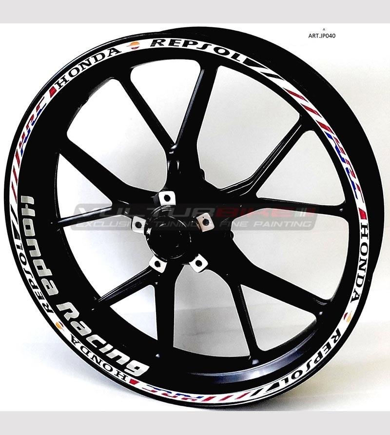 Pegatinas de ruedas - Honda Racing CBR Repsol hrc