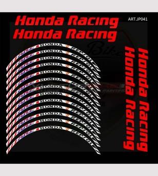 Adesivi ruote Honda Racing - Honda CBR Repsol HRC