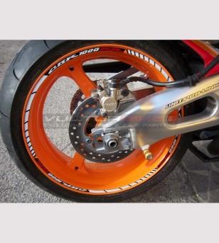 Wheels stickers - Honda CBR 600/1000RR REPSOL