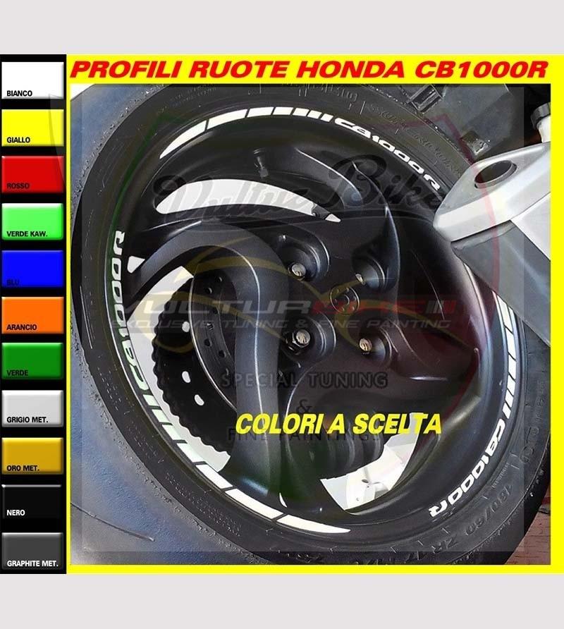 Wheels adhesive profiles - Honda CB1000R