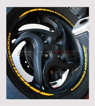 Wheels adhesive profiles - Honda CB1000R