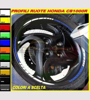 Wheels profiles combination - Honda CB1000R