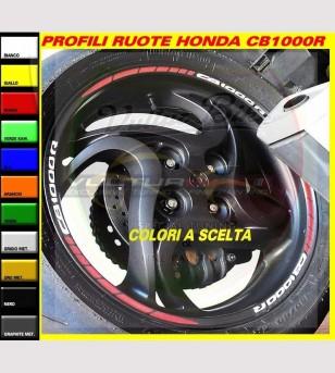 Perfiles de rueda combinados - Honda CB1000R
