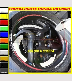 Wheels profiles combination - Honda CB1000R