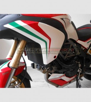 Full Stickers Kit - Ducati Multistrada 1200 - Italian Tricolor