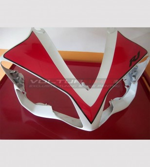 Front fairing number plate stickers - Yamaha R1 2007/2008