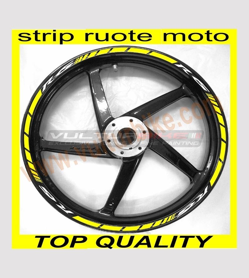 Customizable adhesive stripes for wheels - Yamaha R1/R6