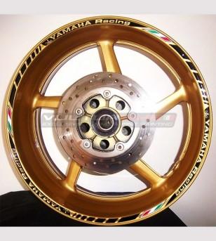 Profili adesivi Racing per cerchi - Yamaha