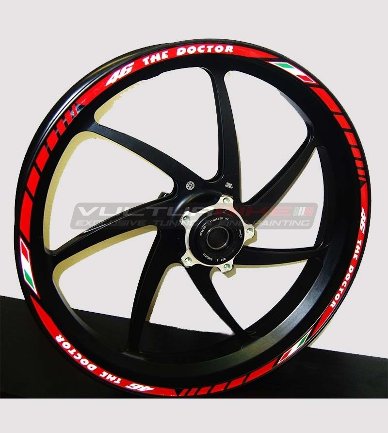 Wheels' profiles The Doctor - Yamaha