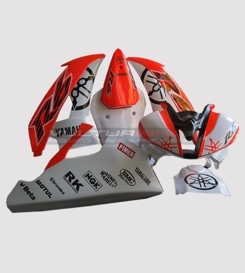 Motorcycle fairing stickers custom design - Yamaha R6