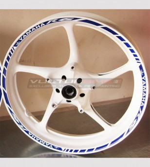 Strisce adesive per ruote new - Yamaha R6