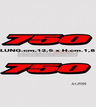 Tail's stickers - Suzuki GSX R 750