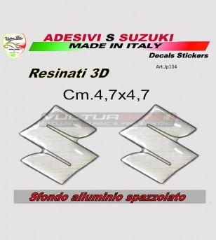 Adesivi S resinati 3D - Suzuki