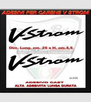 Colored V-Strom stickers -...