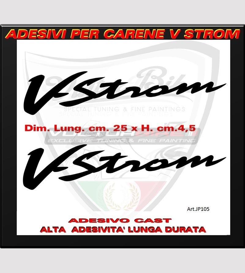 Colored V-Strom stickers - Suzuki