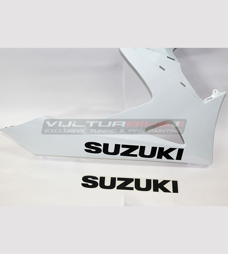 Lower fairings' stickers - Suzuki