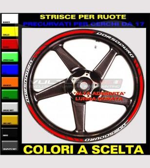 Pegatinas personalizables para ruedas - Aprilia Dorsoduro