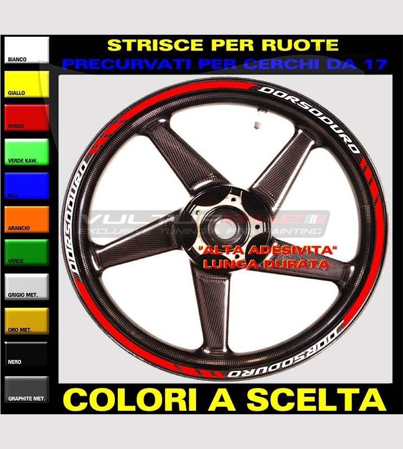 Customizable stickers for wheels - Aprilia Dorsoduro