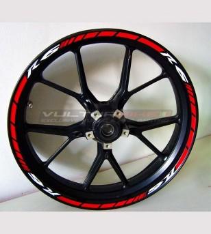 Adesivi per ruote personalizzabili - Yamaha R6