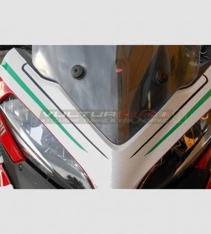 Cupolino Aufkleber - Ducati Multistrada 1200