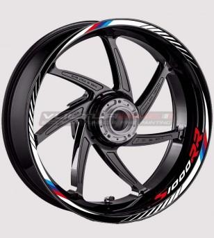 Motorrad-Rad-Aufkleber-Kit - BMW S1000RR