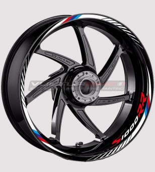 Stickers' kit for motorcycle's wheels - BMW S1000RR