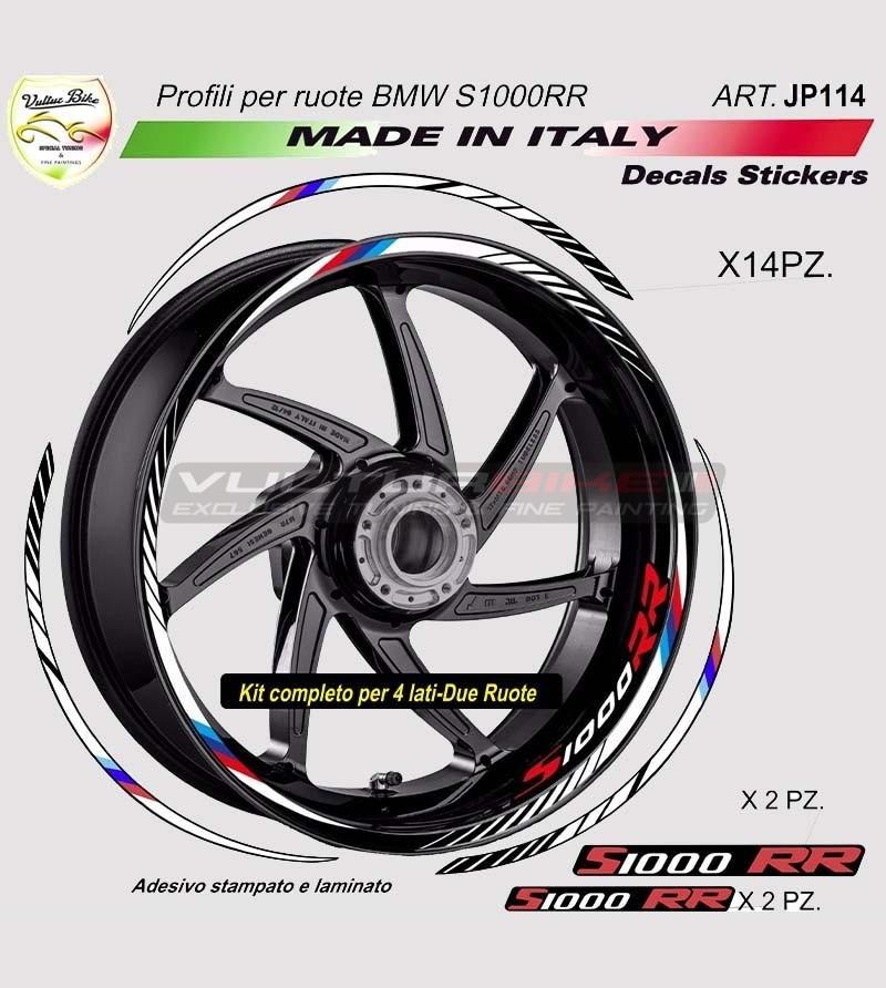 Kit de pegatinas de la rueda de la motocicleta - BMW S1000RR