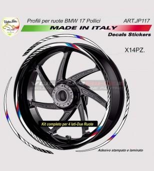 Kit adesivi per ruote tutti i modelli - BMW