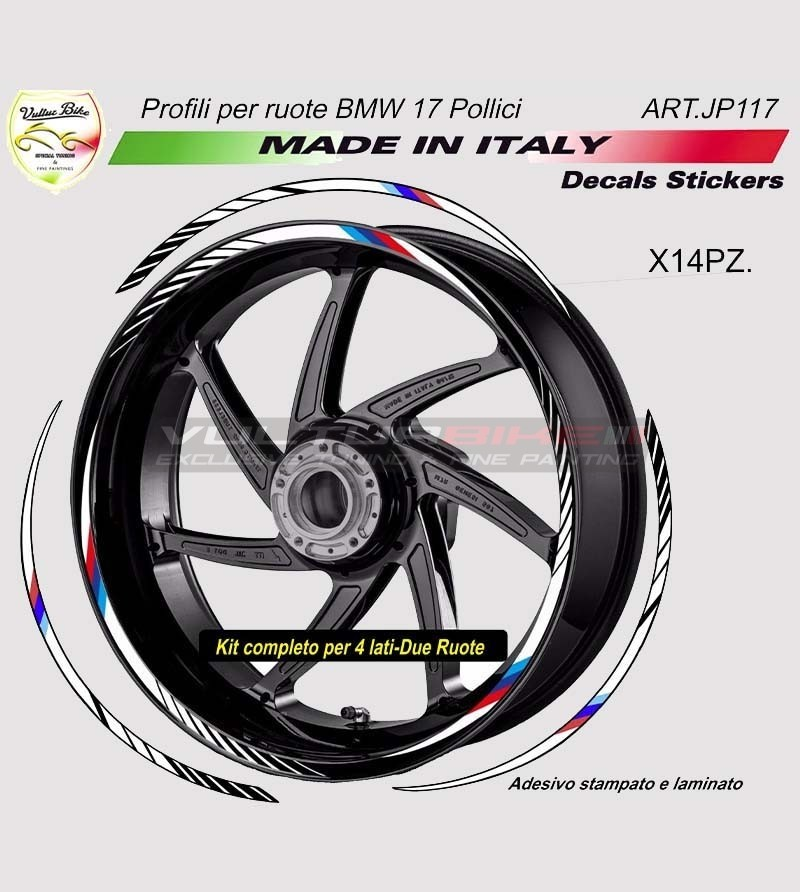 Stickers' kit for wheels all models - BMW