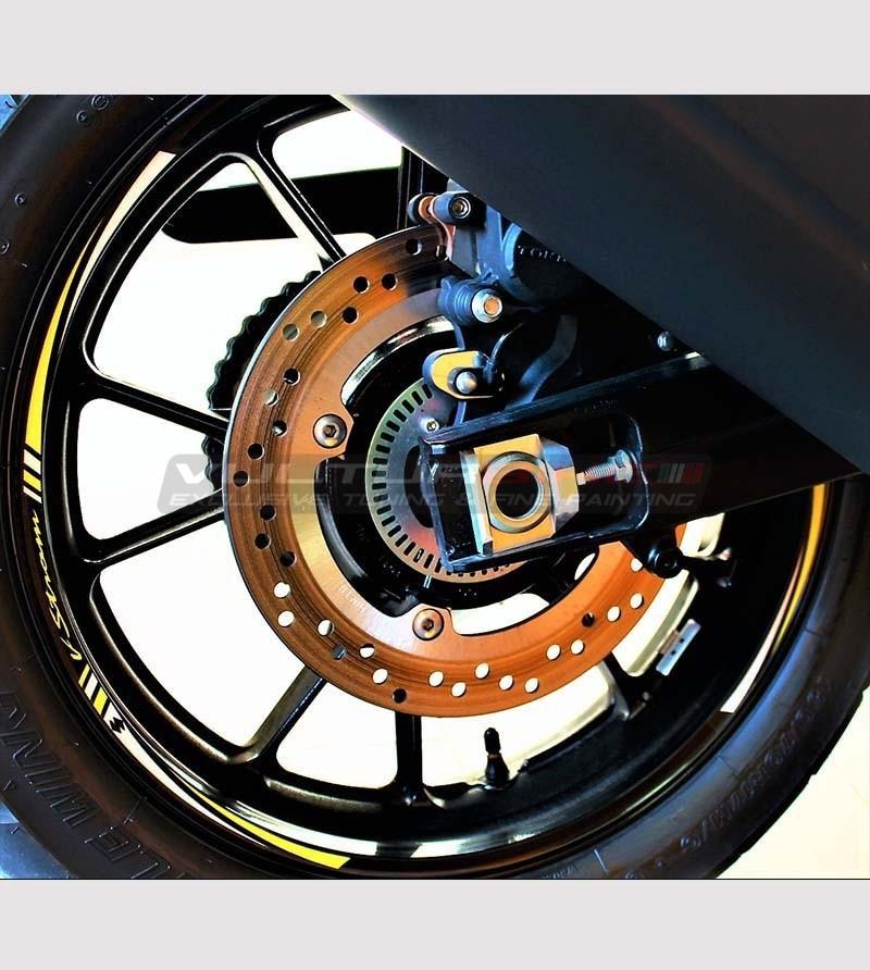 Adesivi personalizzabili per ruote - Suzuki V-strom
