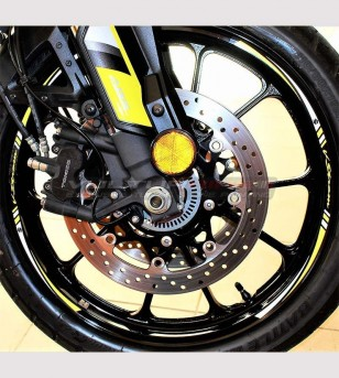 Customizable stickers for wheels - Suzuki V-strom