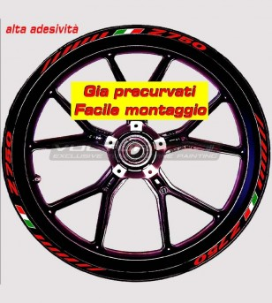 Stickers for wheels - Kawasaki Z 750