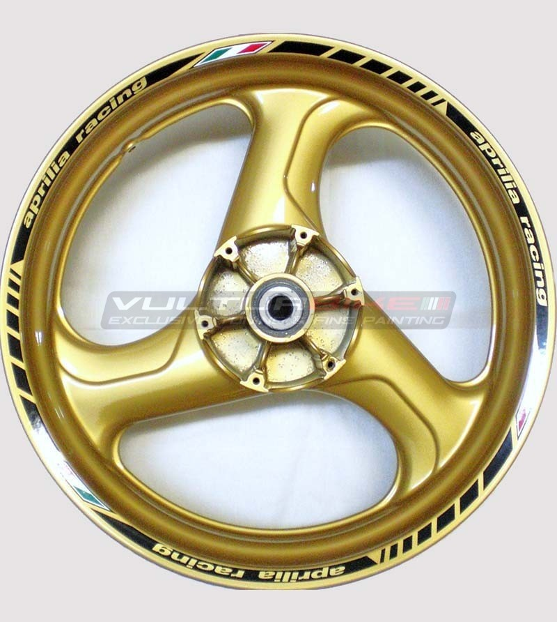 Stickers for wheels - Aprilia racing
