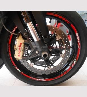 Anpassbare Aufkleber für Räder - Aprilia RSV4