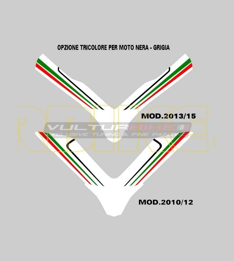 Front fairing sticker - Ducati Multistrada 1200