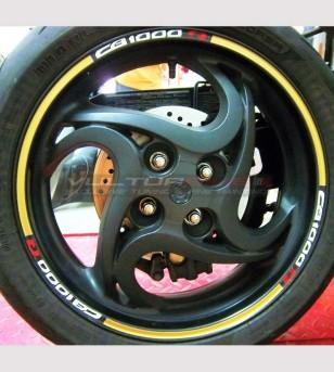 Stickers for wheels - Honda CB 1000 R
