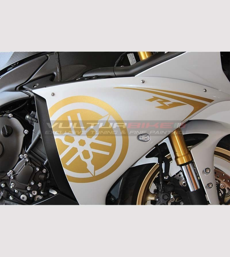Stickers' kit gold - Yamaha R1 2009/14