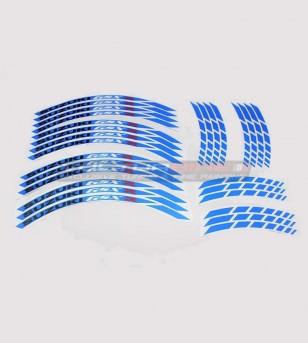 Pegatinas de colores para ruedas - Suzuki GSX R