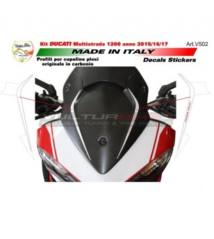 Front fairing's stickers Pikes Peak - Ducati Multistrada 1200 since 2015