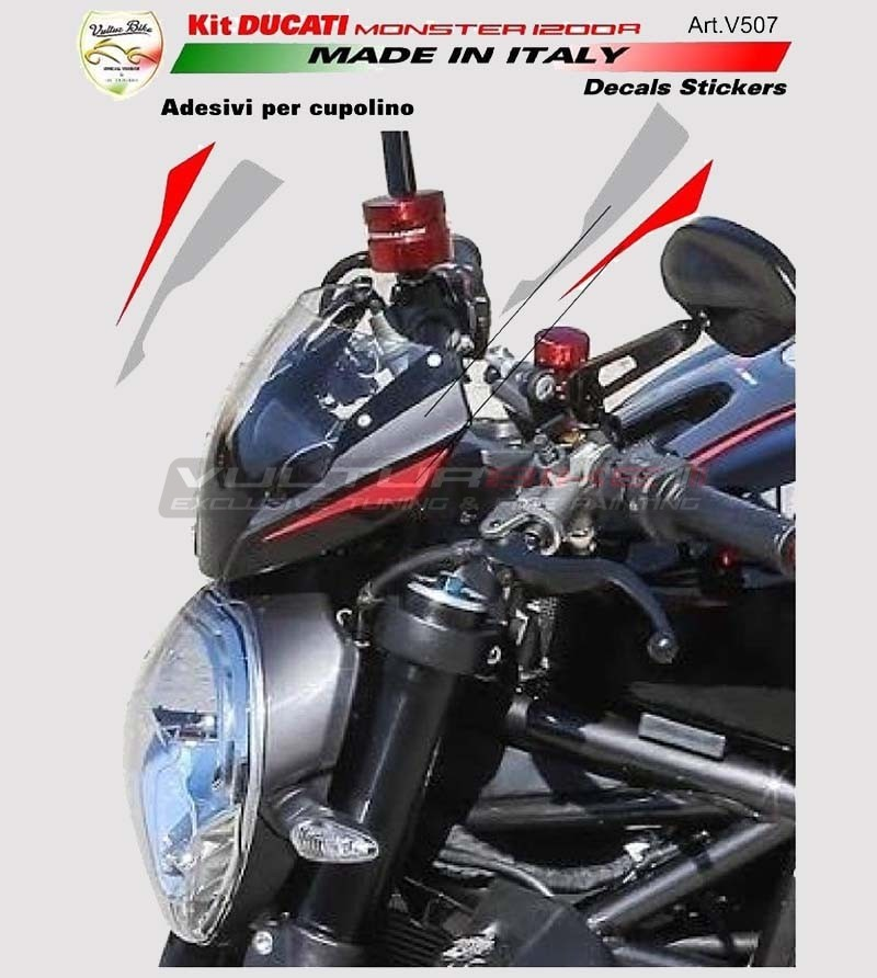 Adesivi per cupolino - Ducati Monster 821/1200