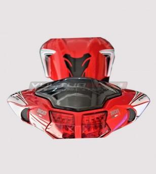 Tricolor Klebeset - Ducati Streetfighter