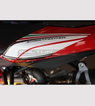 Stickers' kit tricolor - Ducati Streetfighter