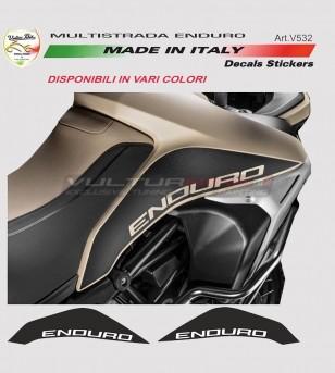 Adesivi per serbatoio - Ducati Multistrada enduro